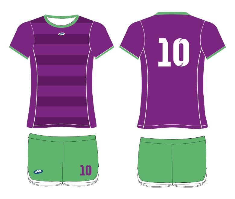 b80507b94fffb Uniforme Femenino de Futbol – Textiles y Promocionales
