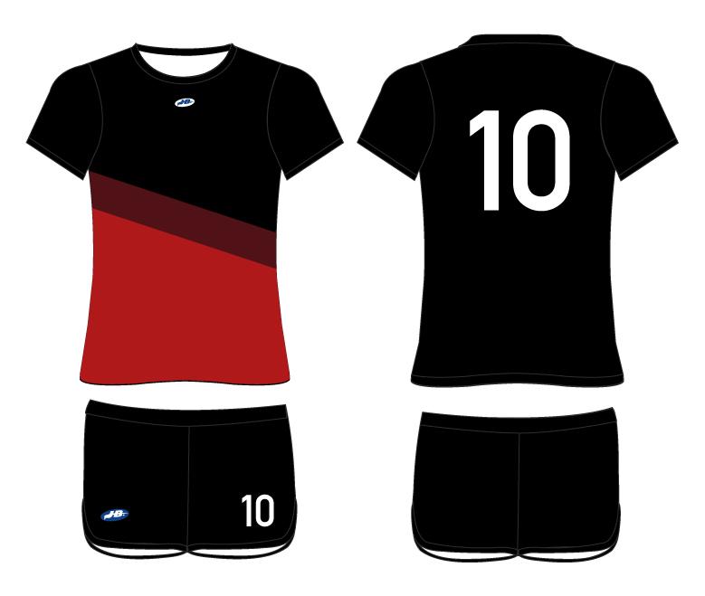 058cf1c5037ac Uniforme Femenino de Futbol – Textiles y Promocionales