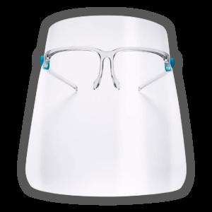 Careta Protectora Unisex con gafas